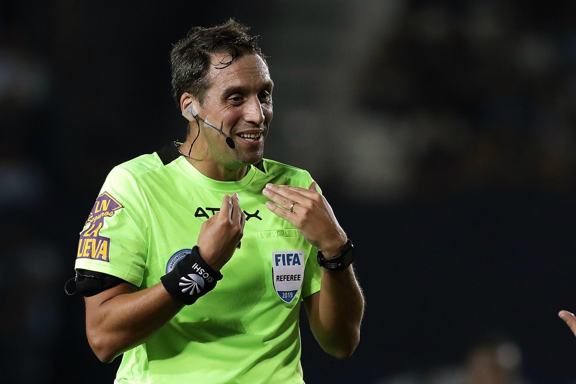 River-Boca: Fernando Rapallini dirigirá el superclásico, luego de su polémica con Gago y los Barros Schelotto