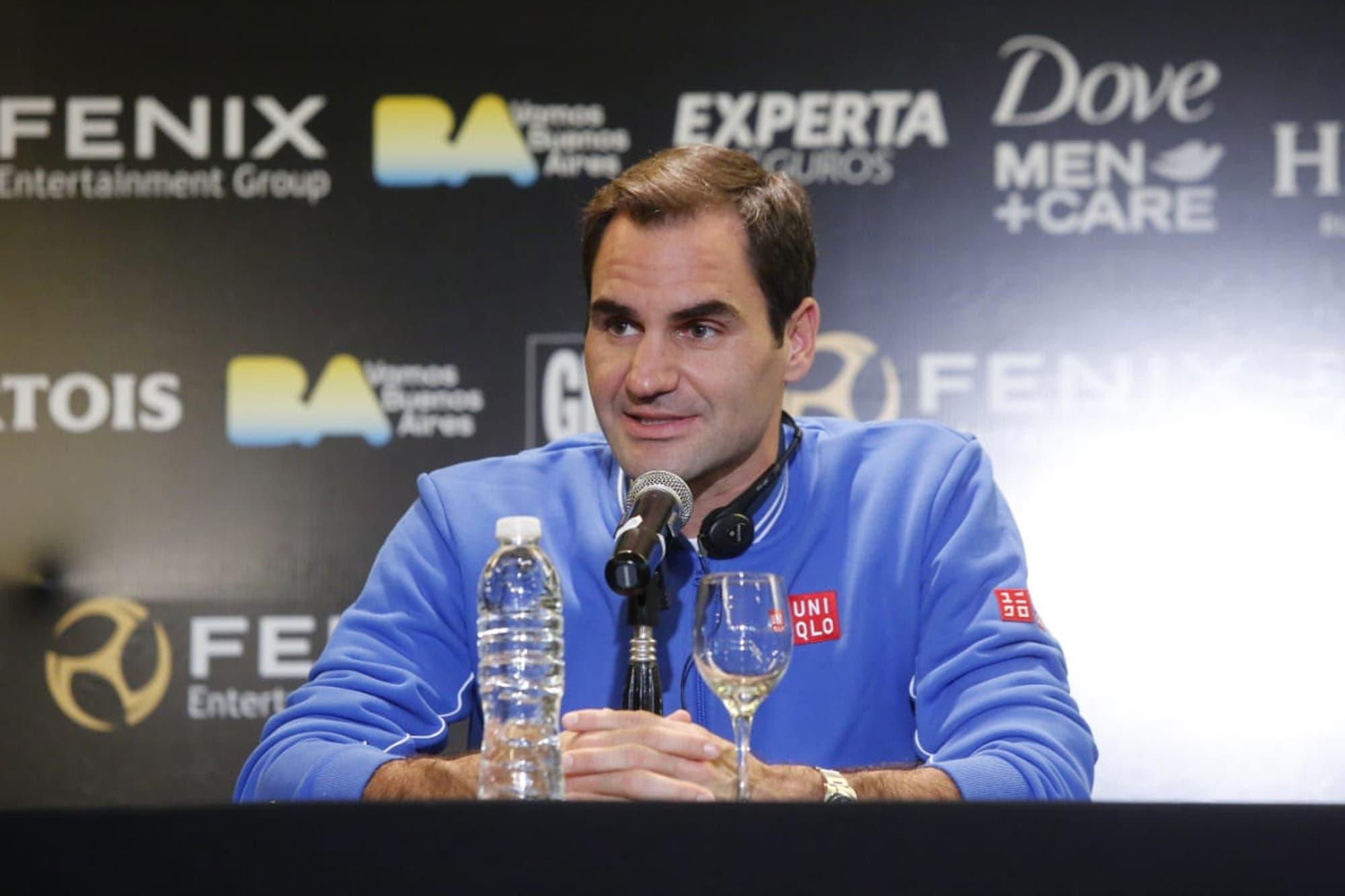 """Roger Federer, en la Argentina: """"Mantenerse en la cima es cualquier cosa menos fácil"""""""