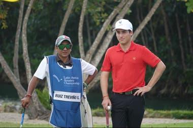 Ortiz y su trabajo durante el Latin America Amateur Championship con el mexicano Gabriel Ruiz Treviño