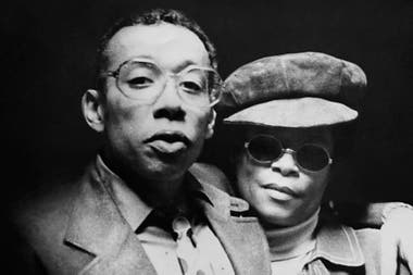 The trumpeter Lee Morgan and his wife, Helen Moore