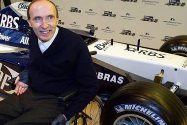 Frank Williams, el fundador de la escuadra que más campeonatos de constructores conquistó después de Ferrari: nueve.