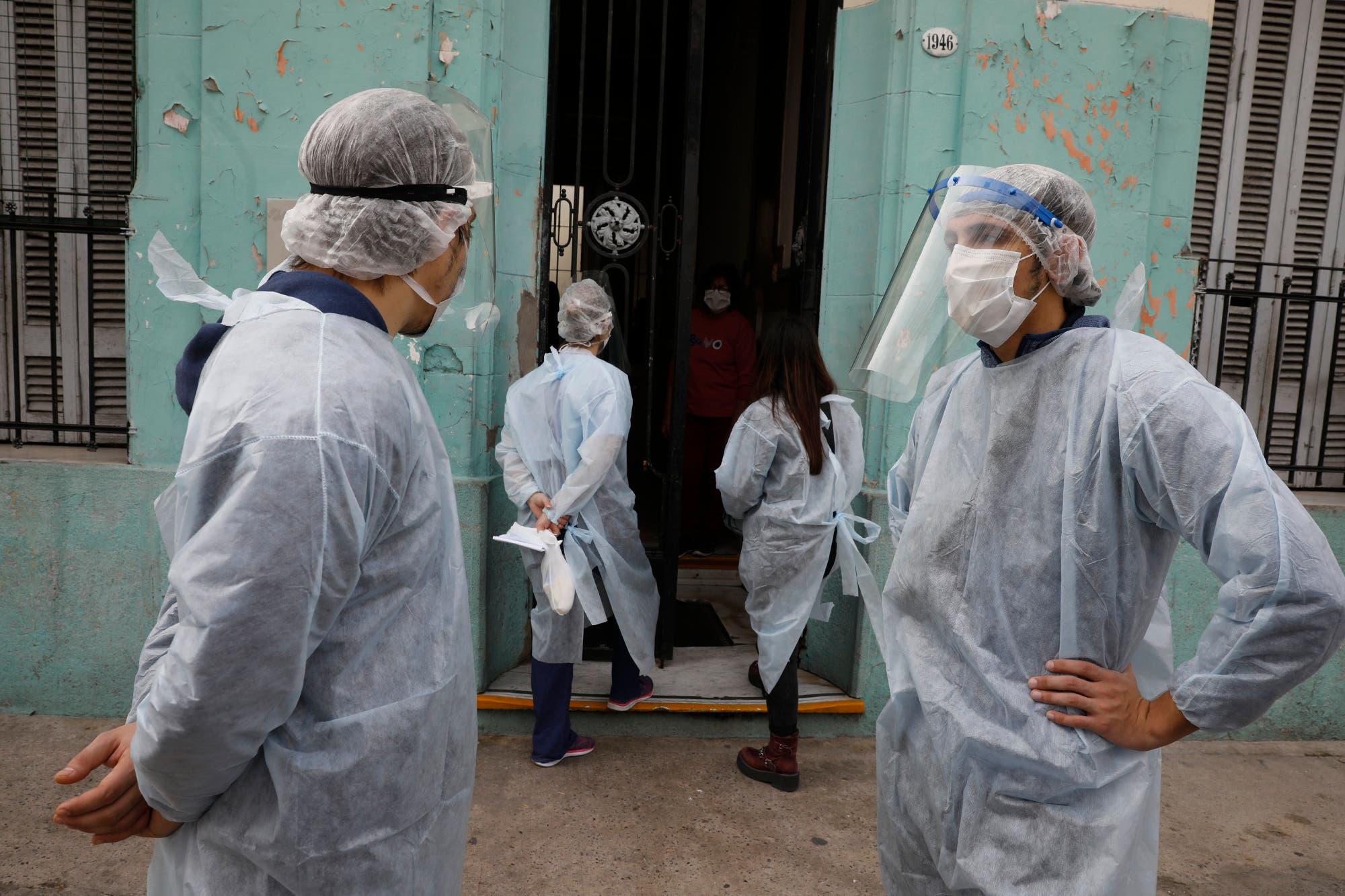 Coronavirus en la Argentina: confirman 117 muertes y 5344 contagios en las últimas 24 horas
