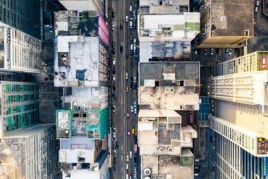Muchas ciudades están dominadas por el cemento de los edificios como el de las calles y sin espacio para lugares verdes.