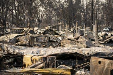 Los daños provocados por los incendios en Oregon