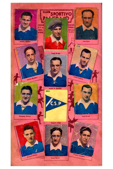 Jugadores de Sportivo Palermo, un club cuya historia estuvo llena de vaivenes y terminó abruptamente en 1984.