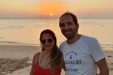 Martín y su mujer, Patricia, dispuestos a explorar nuevos horizontes.