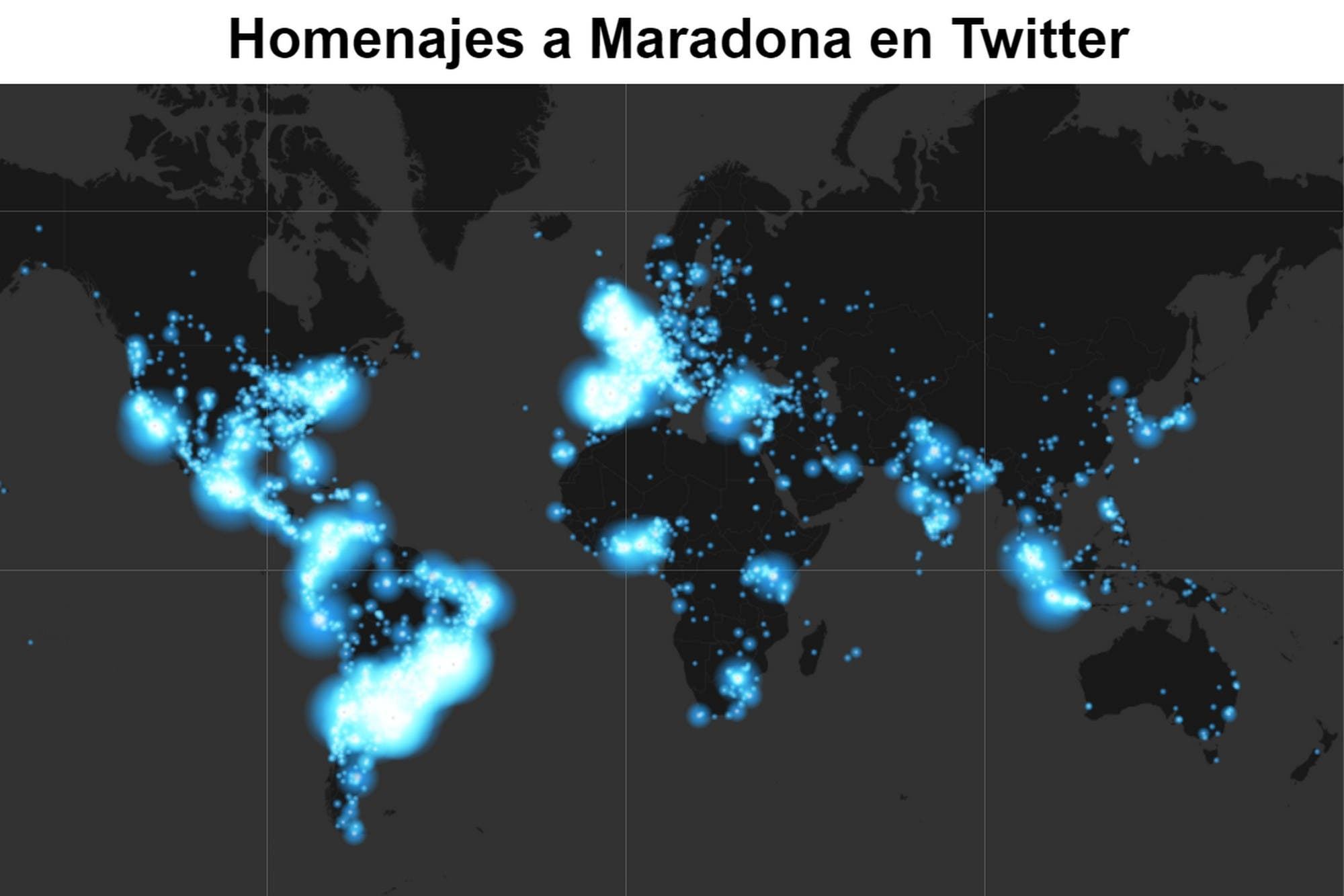 La muerte de Diego Maradona: más de 3 millones de mensajes en Twitter le rinden homenaje