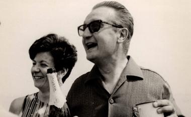 Los verdaderos Giorgio y Gabriella Rosa