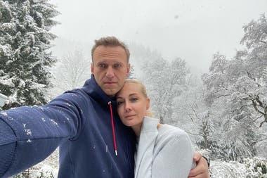 El crítico de Putin se mostró en un tribunal, a horas de partir desde Alemania