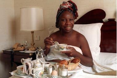 Nina Simone vivió sus últimos años en Francia