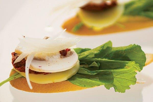 Receta de Bruschettas vegetarianas