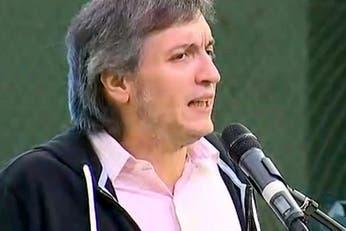 Máximo Kirchner, sobre la decisión de Cristina: