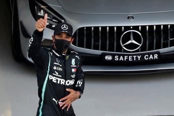 Fórmula 1. Al sueño de Hamilton de igualar el récord de Schumacher le apareció un problema: la estrategia de los neumáticos