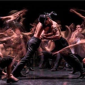 Afiche de Ballet Contemporáneo del Teatro San Martín
