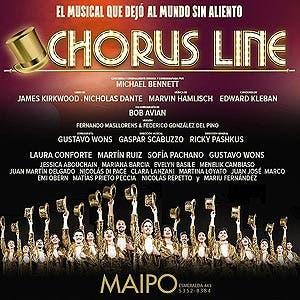 Afiche de Chorus Line