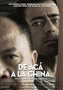 Afiche de De acá a la China