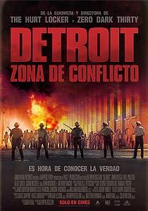 Afiche de Detroit: zona de conflicto