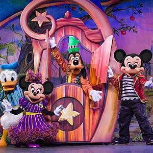Afiche de Disney Live!