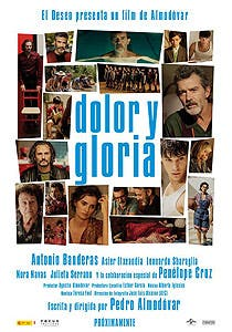 Afiche de Dolor y gloria