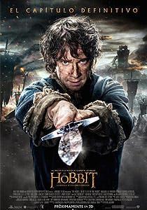 Afiche de El Hobbit: La Batalla de los cinco ejércitos