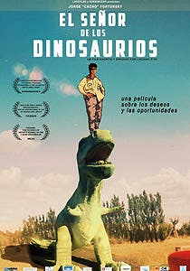 Afiche de El señor de los dinosaurios