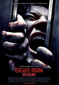 Afiche de Escape room: Sin salida