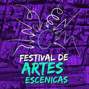 Afiche de Festival de artes escénicas