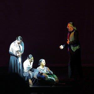 Afiche de Flamenco. Lorca y pasión