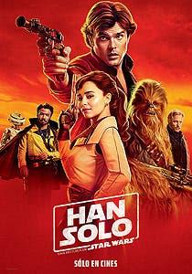 Afiche de Han Solo: Una Historia de Star Wars
