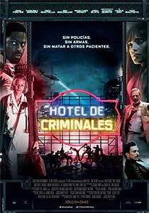 Afiche de Hotel de criminales