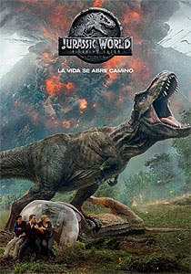 Afiche de Jurassic World: El Reino Caído