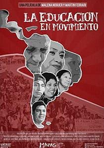 Afiche de La educación en movimiento
