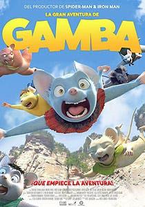 Afiche de La gran aventura de Gamba 3D