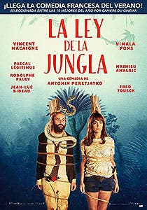 Afiche de La ley de la jungla