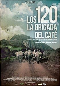Afiche de Los 120. La brigada del café