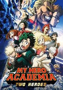 Afiche de My hero academia: Two heroes