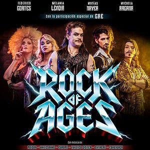 Afiche de Rock of ages