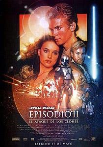 Afiche de Star Wars: Episodio II - El ataque de los clones